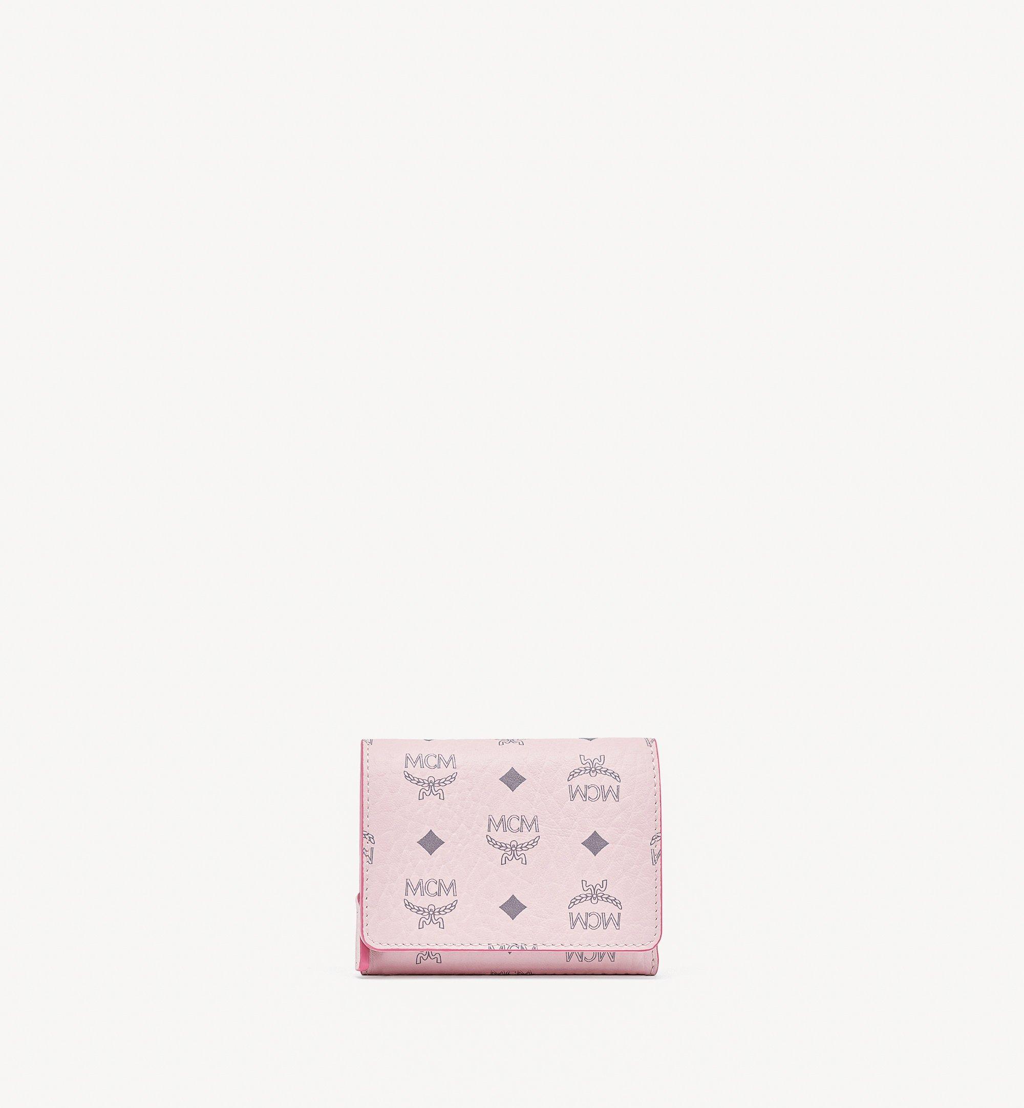 MCM Visetos Original 系列三折錢包 Pink MYSBSVI01QH001 更多視圖 1