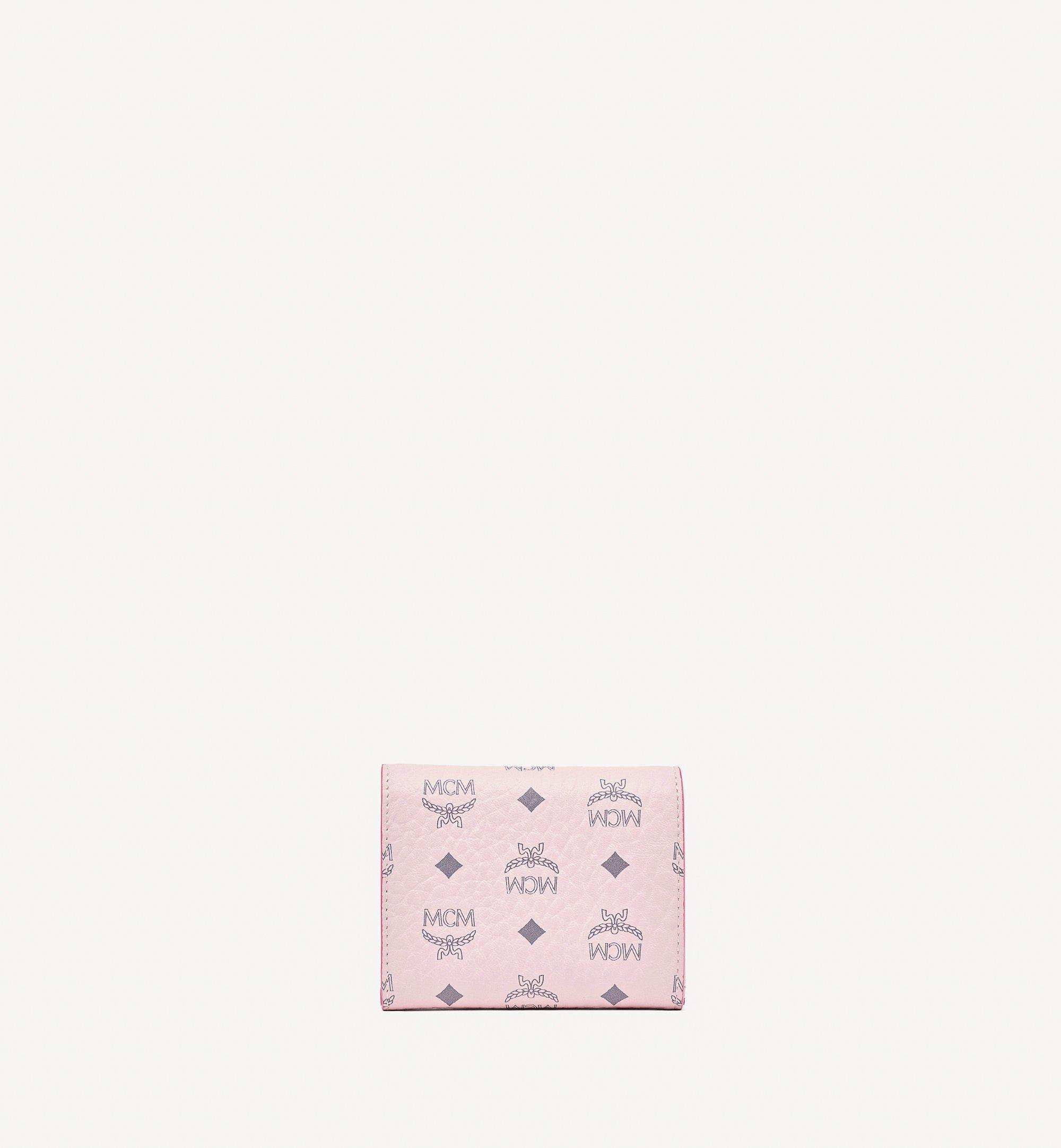 MCM Visetos Original 系列三折錢包 Pink MYSBSVI01QH001 更多視圖 2