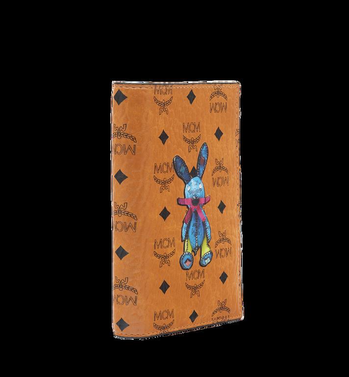 MCM Rabbit Passport Holder in Visetos Alternate View 2