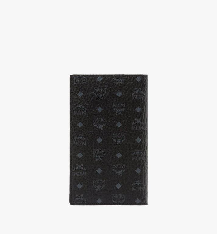 MCM Passport Holder in Visetos Original Black MYV8SVI50BK001 Alternate View 3
