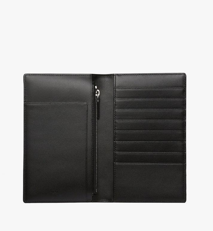 MCM Passport Holder in Visetos Original Black MYV8SVI50BK001 Alternate View 4
