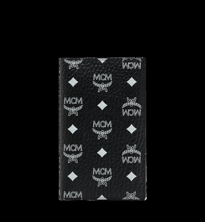 MCM Reisepasshülle mit Visetos-Logo in Weiss MYV9SWA10BV001 AlternateView
