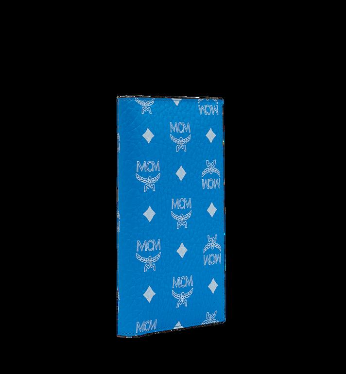 MCM Reisepasshülle mit Visetos-Logo in Weiss Blue MYV9SWA10HI001 Alternate View 2