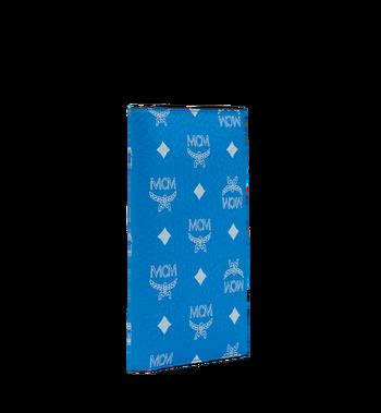 MCM Passport Holder in White Logo Visetos MYV9SWA10HI001 AlternateView2