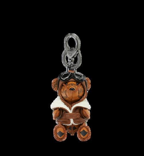 Aviator Bear Animal Charm