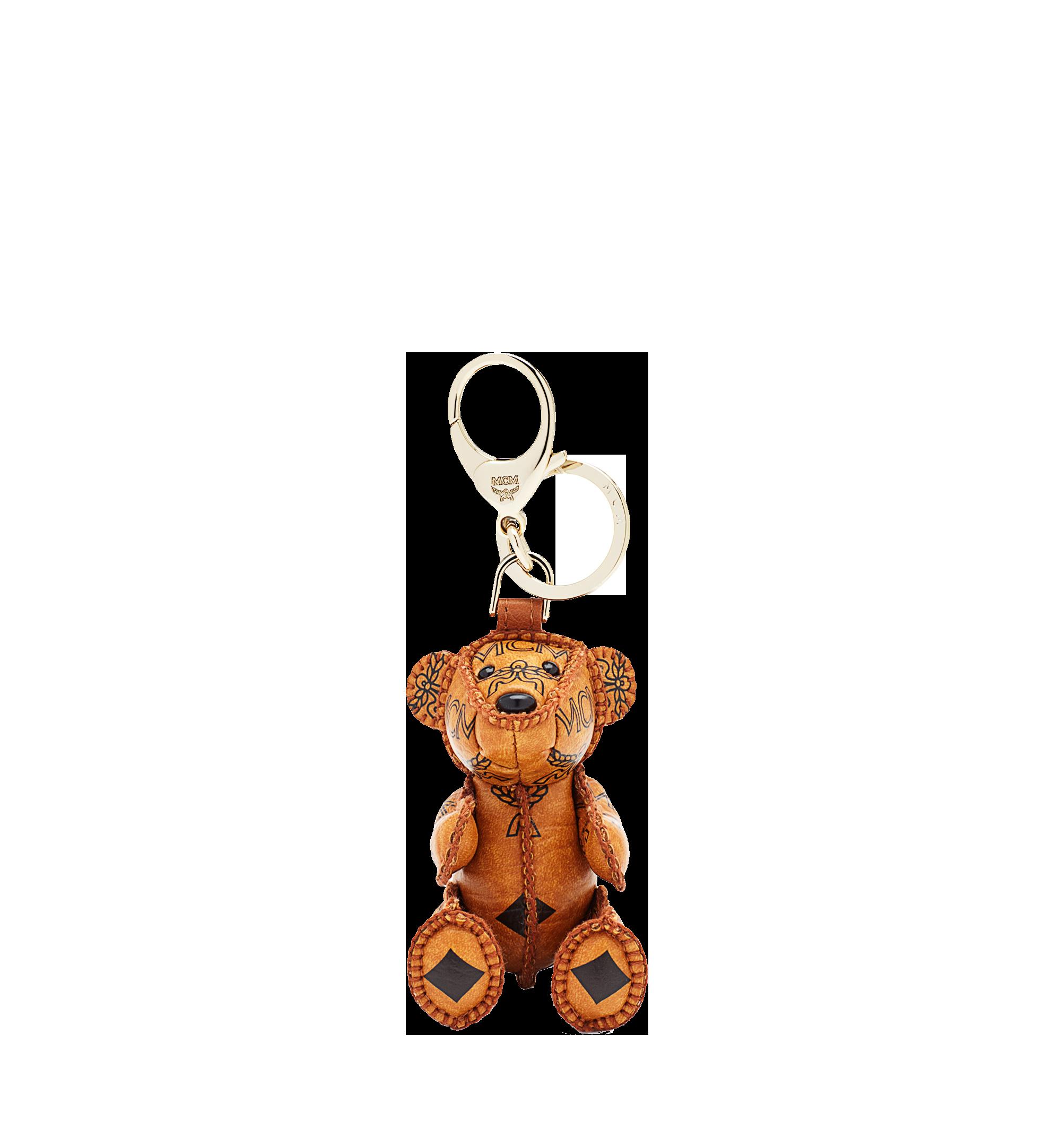 MCM Bear Animal Charm Cognac MYZ5AVI36CO001 Alternate View 1