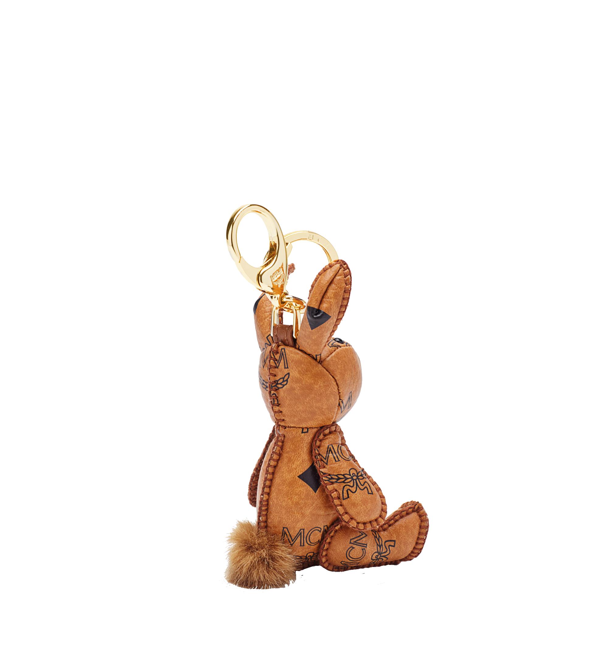 MCM MCM Visetos 可愛小兔鑰匙圈 Cognac MYZ5AVI38CO001 更多視圖 1