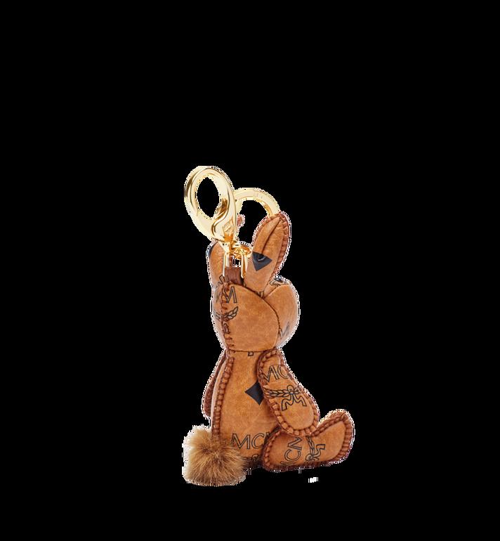 MCM MCM Zoo Schlüsselanhänger mit Hase in Visetos Cognac MYZ5AVI38CO001 Alternate View 2