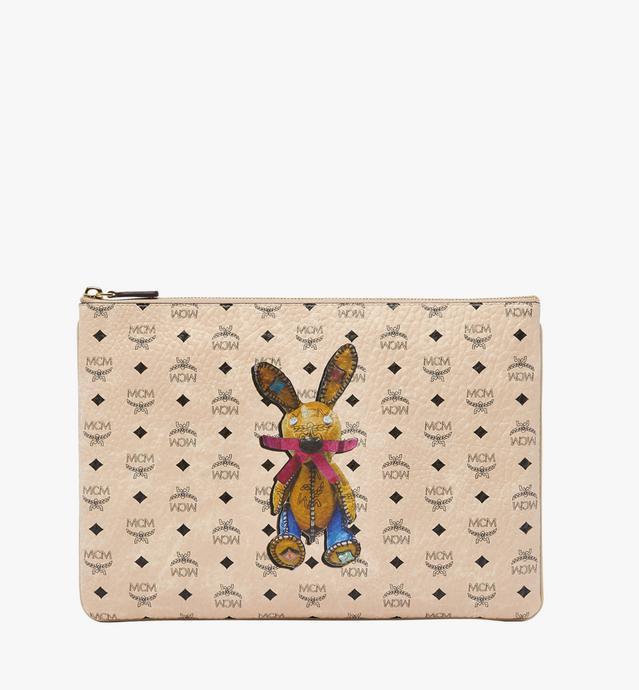 Rabbit Crossbody Pouch in Visetos
