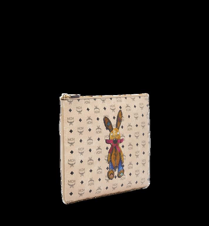 MCM Rabbit Crossbody Pouch in Visetos Alternate View 2