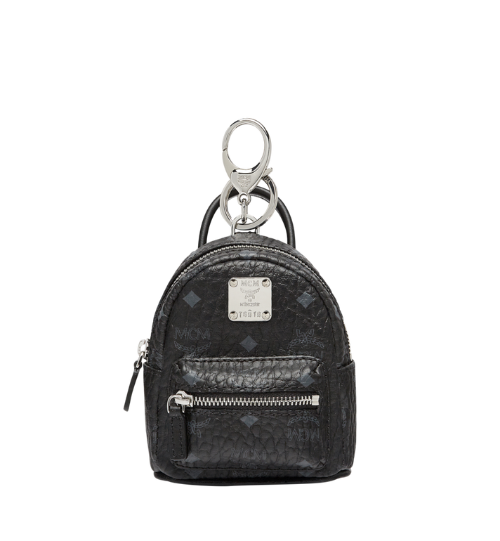 MCM Backpack Charm in Visetos MYZ7AVE26BK001 AlternateView
