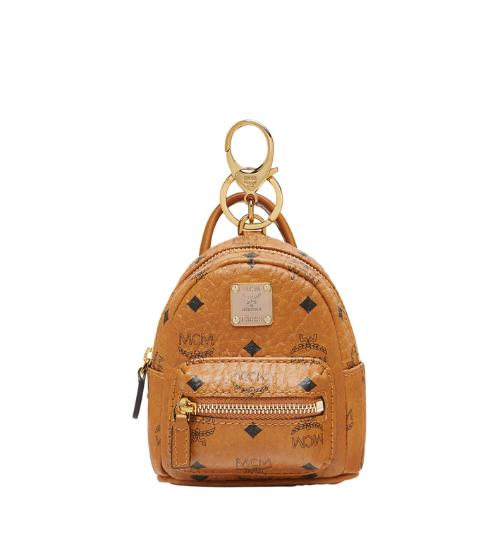 MCM Backpack Charm in Visetos Alternate View