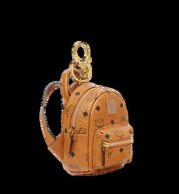 MCM Backpack Charm in Visetos Alternate View 2