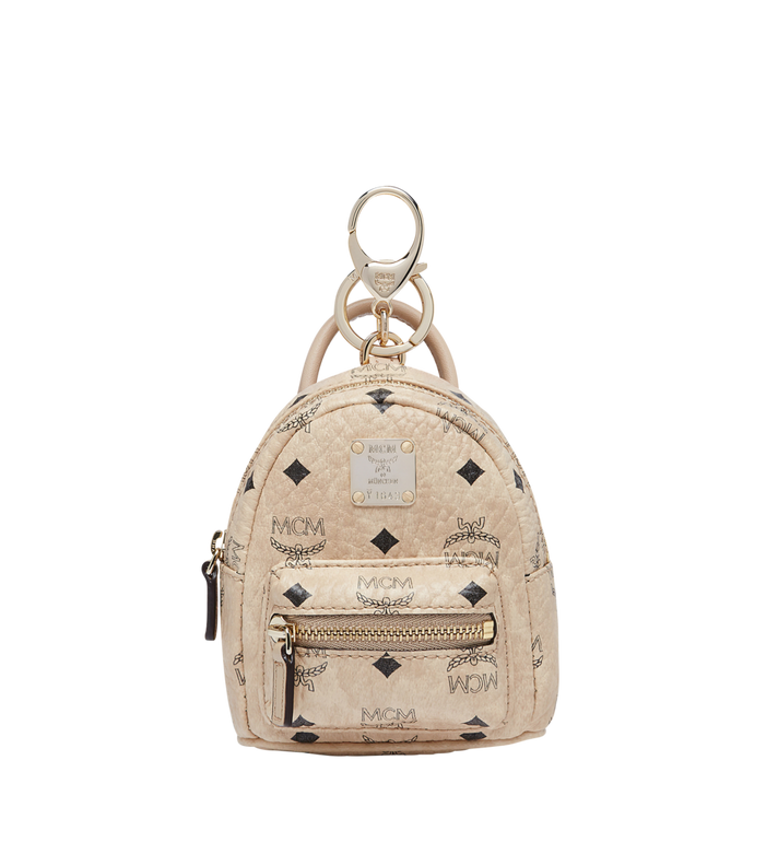 MCM Backpack Charm in Visetos MYZ7AVE26IG001 AlternateView
