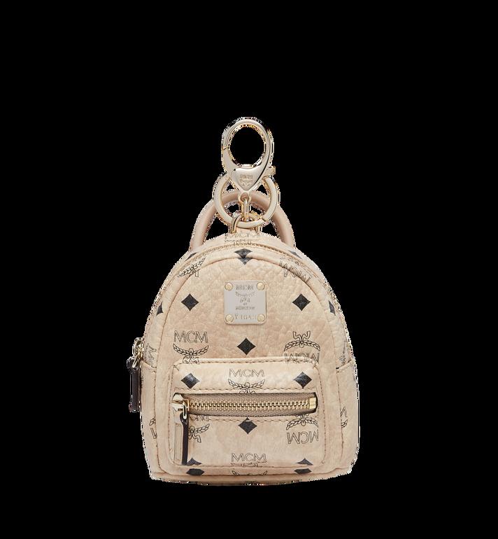 MCM Backpack Charm in Visetos Alternate View