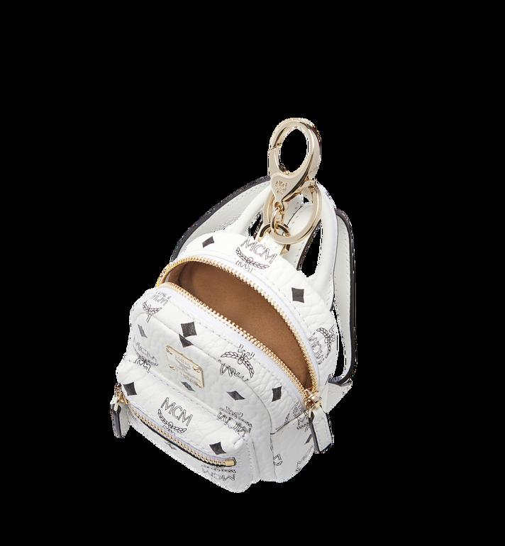 MCM Backpack Charm in Visetos Alternate View 5