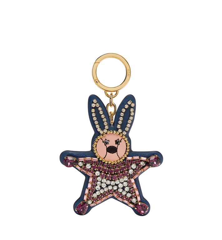 MCM Crystal Star Rabbit Charm in Leather Alternate View
