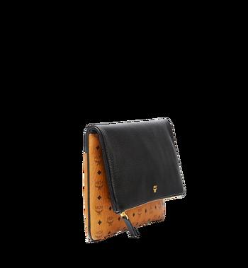 MCM Corina Crossbody Clutch in Visetos Block Leather Alternate View 2