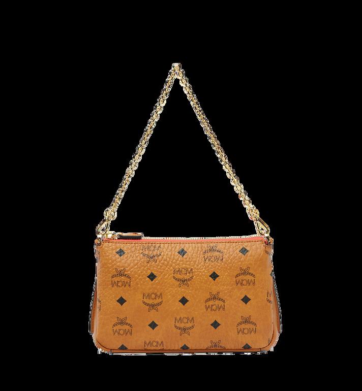 MCM Millie Top Zip Shoulder Bag in Visetos MYZ7SME02CO001 AlternateView