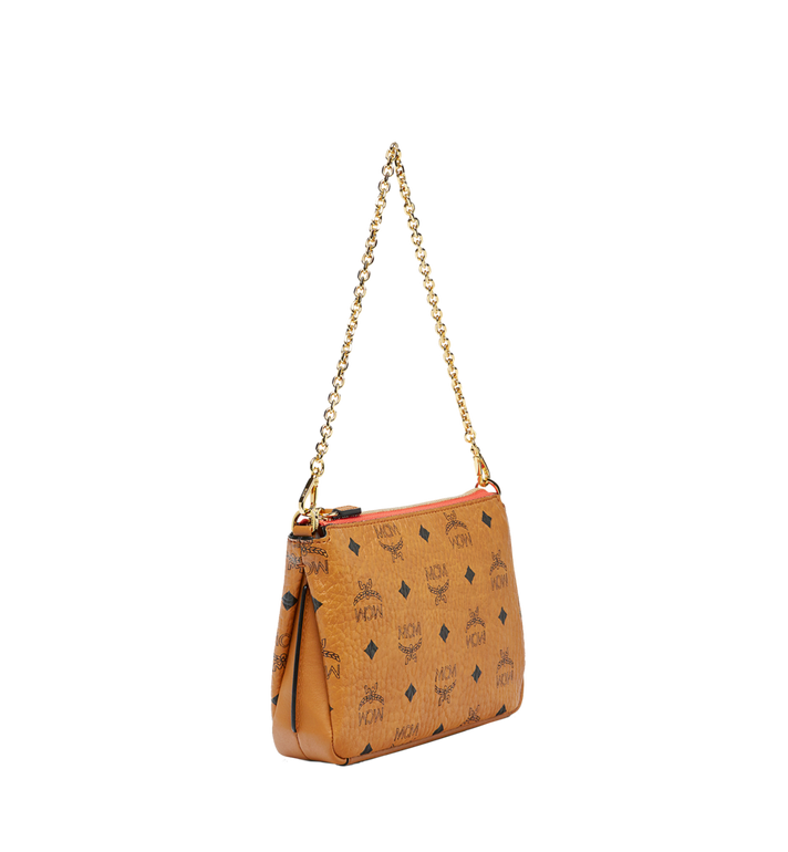 MCM Millie Top Zip Shoulder Bag in Visetos MYZ7SME02CO001 AlternateView2