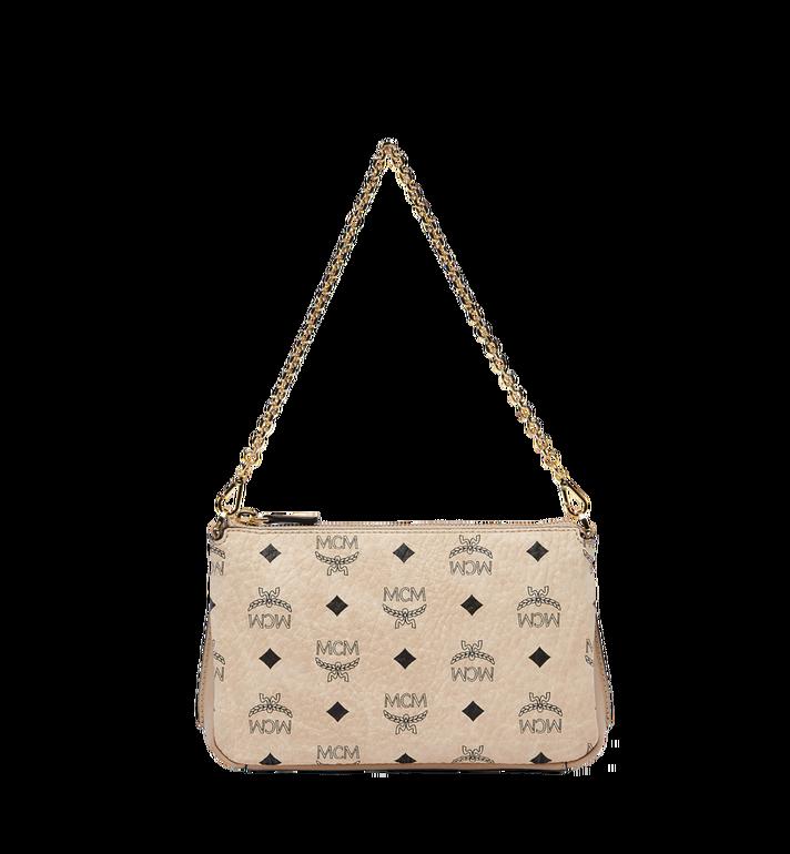 7dbb500d10 MCM Millie Top Zip Shoulder Bag in Visetos AlternateView