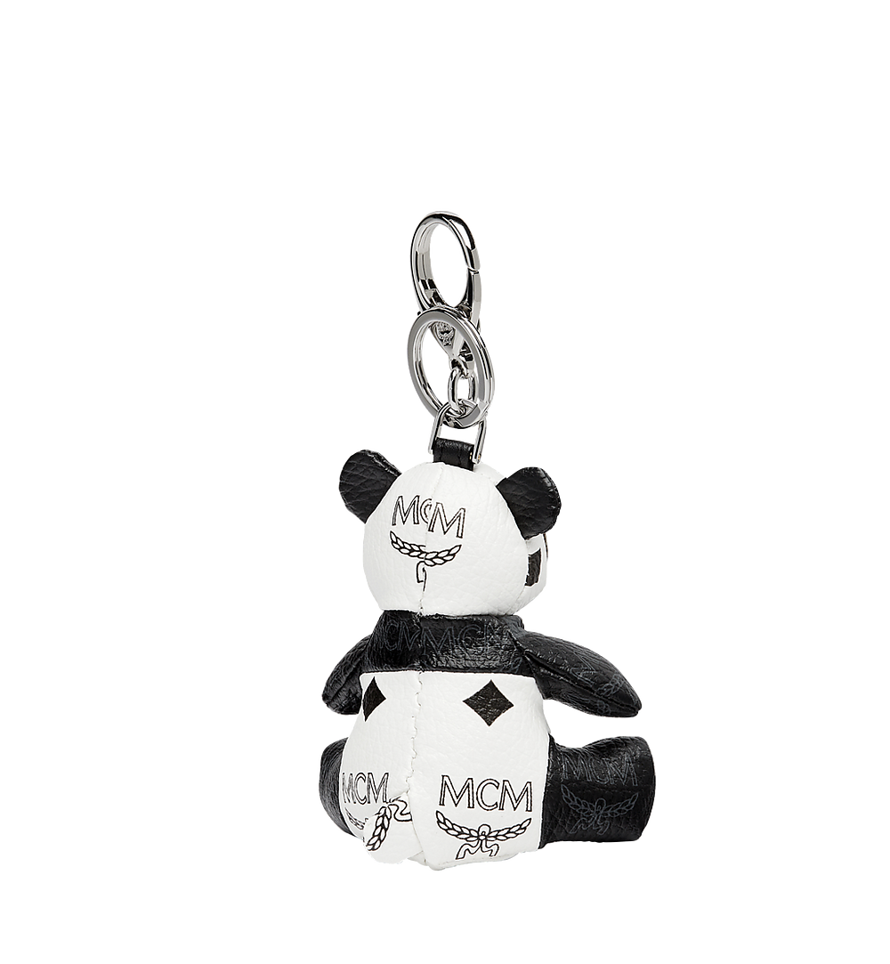 MCM Panda Animal Charm White MYZ7SXA18WT001 Alternate View 1