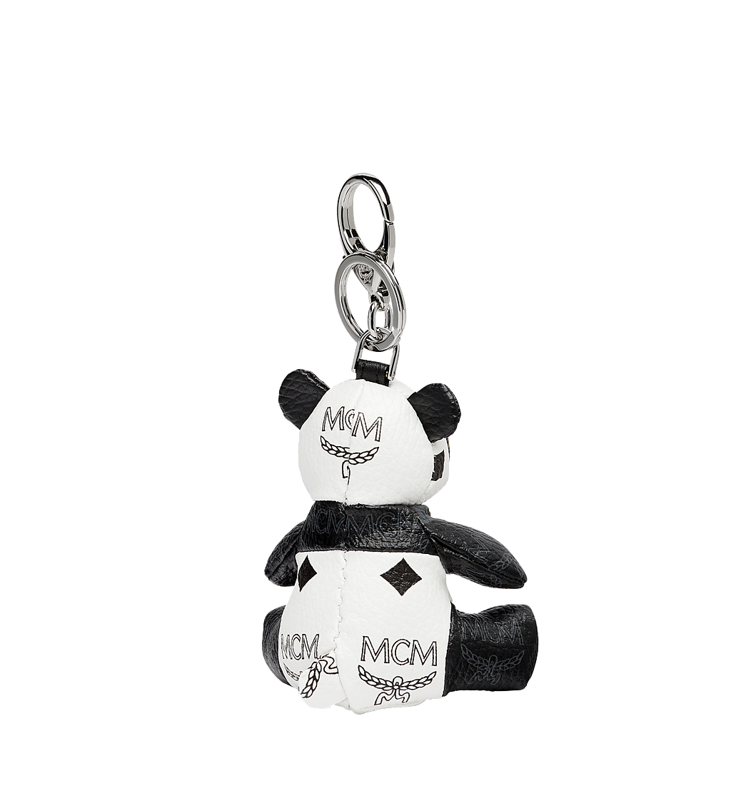 MCM Panda Animal Charm White MYZ7SXA18WT001 Alternate View 1
