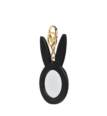 MCM Rabbit Mirror Charm in Visetos MYZ7SXA20WT001 AlternateView2