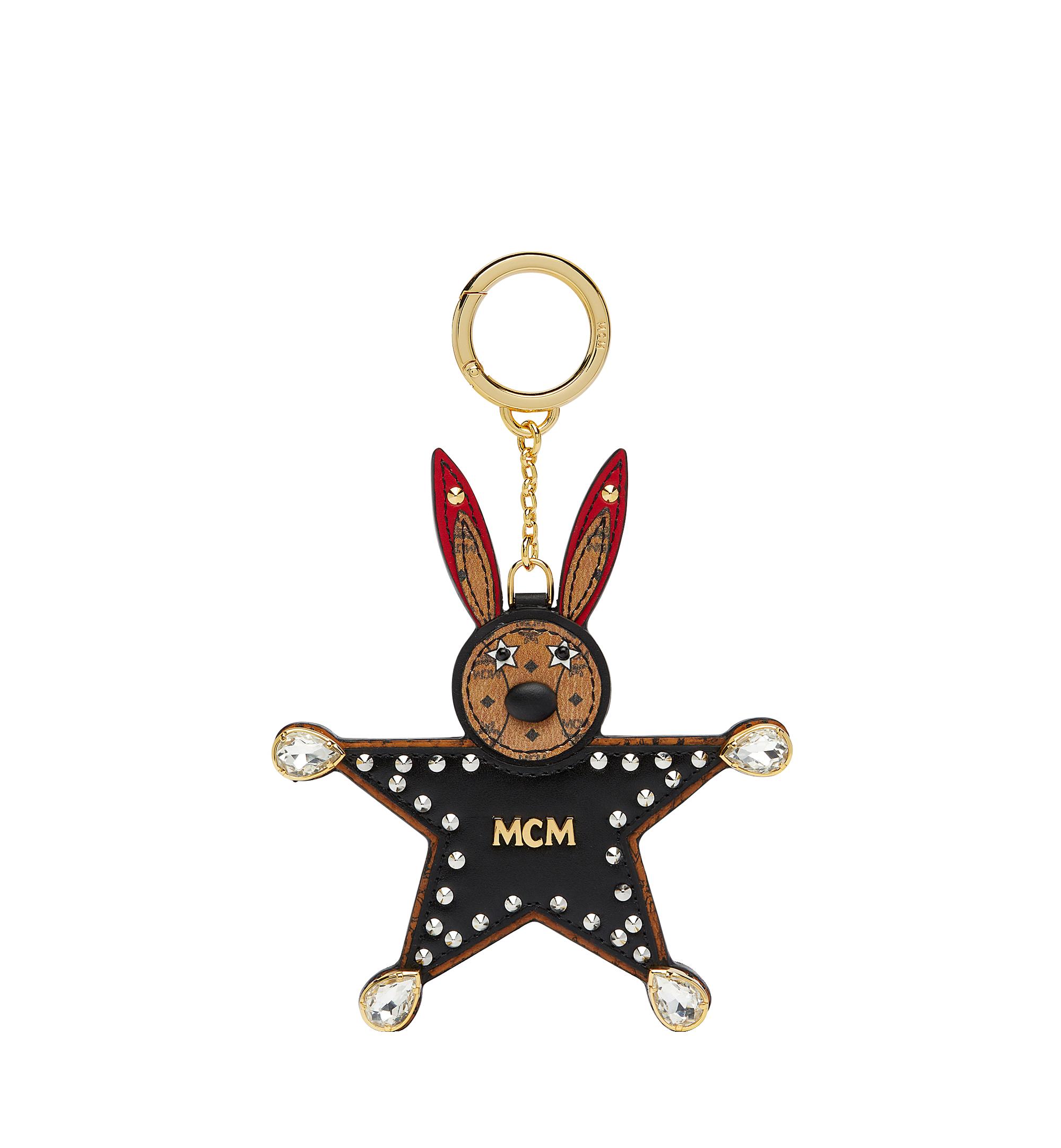 One Size Star Rabbit Charm in Visetos Black ce07ddcdf7642