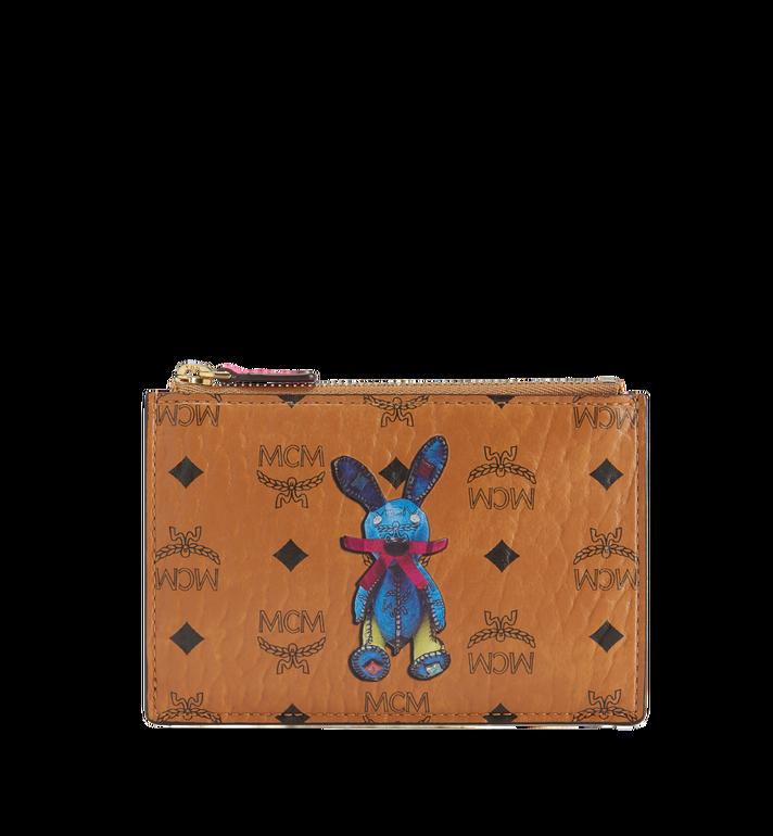 MCM Rabbit Keycase in Visetos Alternate View
