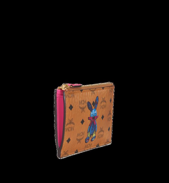 MCM Rabbit Keycase in Visetos MYZ7SXL56CO001 AlternateView2