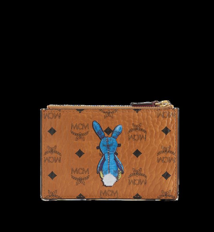 MCM Rabbit Keycase in Visetos MYZ7SXL56CO001 AlternateView3