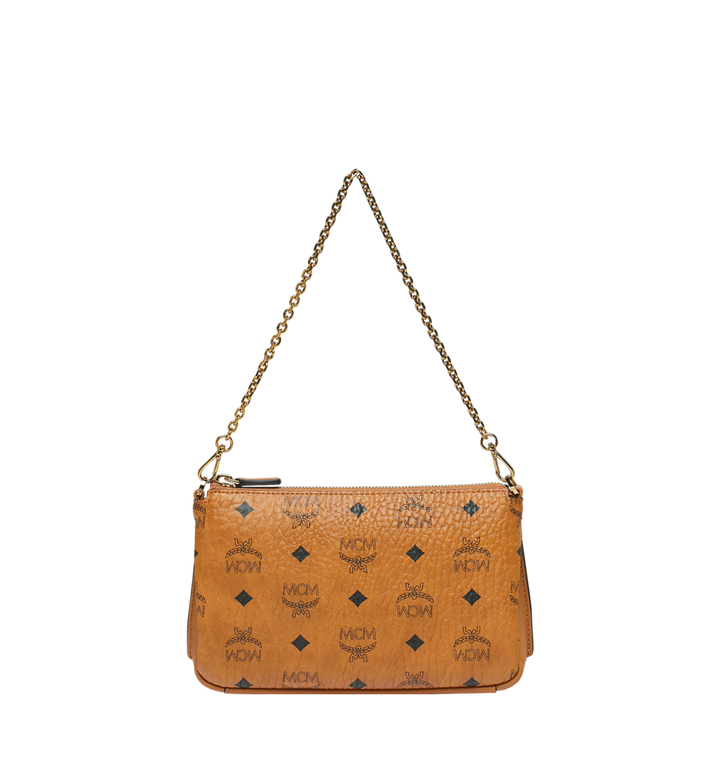 MCM Millie Top Zip Crossbody in Visetos AlternateView