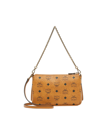 MCM Millie Top Zip Crossbody in Visetos AlternateView4