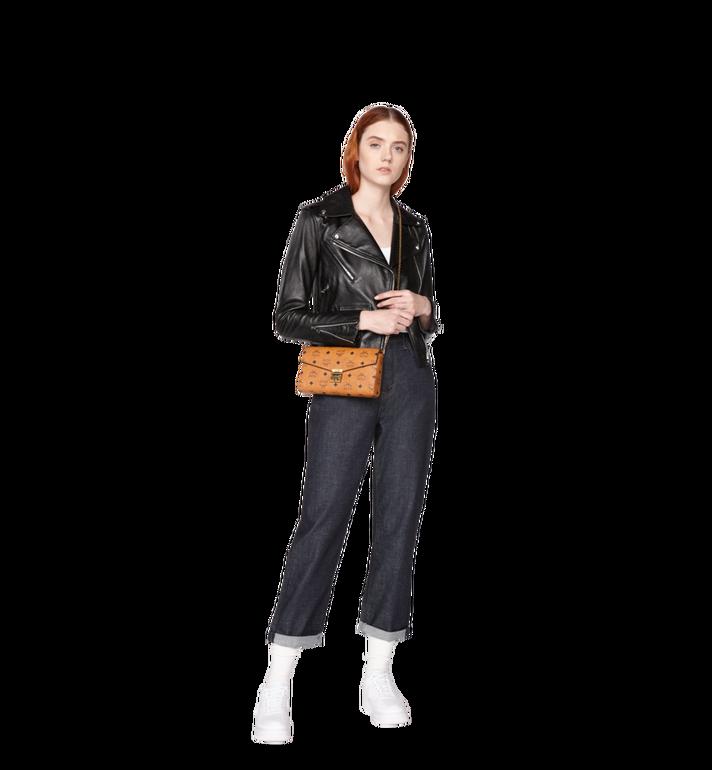 Medium Millie Flap Crossbody Tasche in Visetos COGNAC | MCM® DE