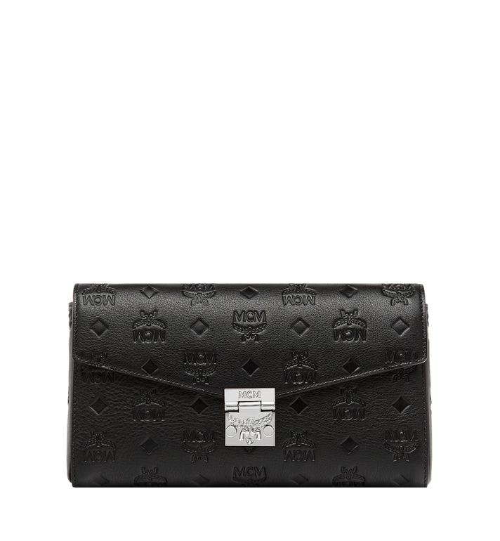 MCM Millie Flap Crossbody in Monogram Leather MYZ8AME12BK001 AlternateView