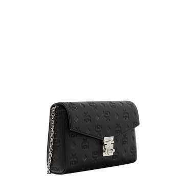 MCM Millie Flap Crossbody in Monogram Leather MYZ8AME12BK001 AlternateView2