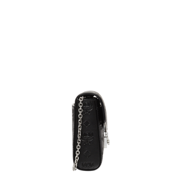 MCM Millie Flap Crossbody in Monogram Leather MYZ8AME12BK001 AlternateView3