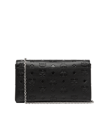 MCM Millie Flap Crossbody in Monogram Leather Alternate View 4