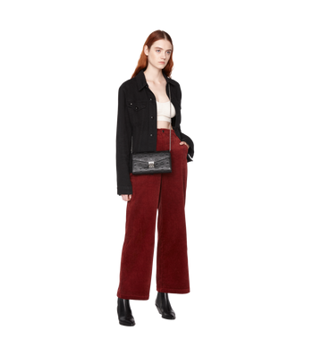 MCM Millie Flap Crossbody in Monogram Leather Alternate View 6