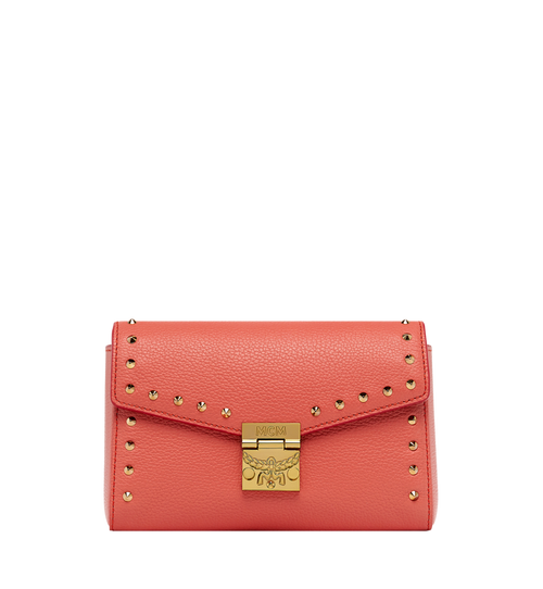 Millie Flap Crossbody-Tasche aus Studded Outline Leder