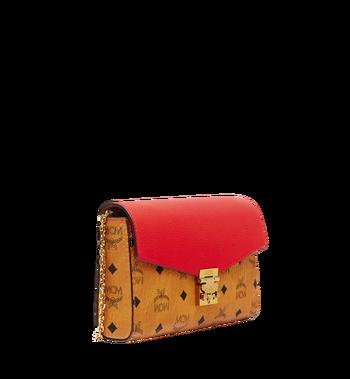 MCM Millie Flap Crossbody in Visetos Leather Block Alternate View 2