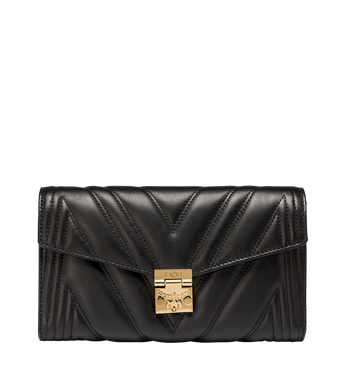 MCM Millie Flap Crossbody in Quilted Leather Alternate View