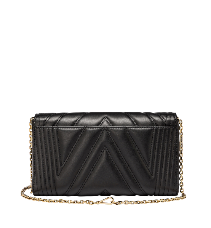 MCM Millie Flap Crossbody in Quilted Leather Alternate View 4