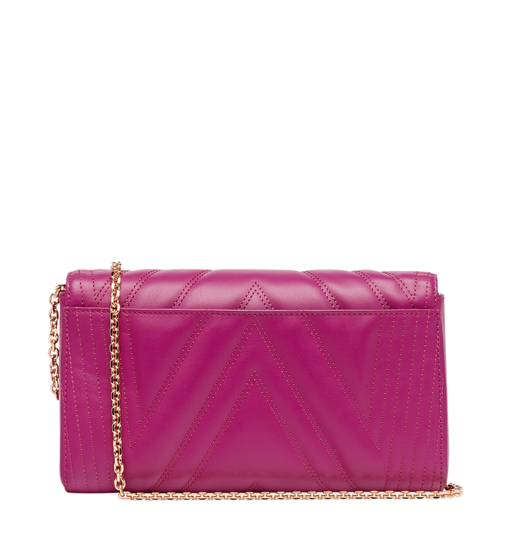 MCM Millie Flap Crossbody in Quilted Leather MYZ8AME42UK001 AlternateView4