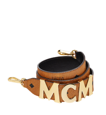 MCM MCM Letter Shoulder Strap in Visetos MYZ8APA96CO001 AlternateView