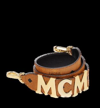 MCM MCM Letter Shoulder Strap in Visetos Alternate View