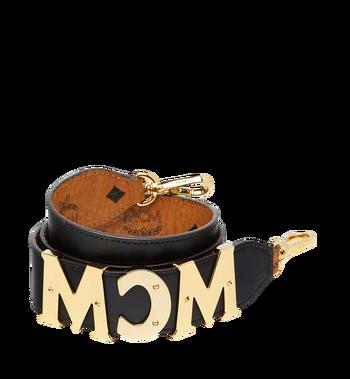 MCM MCM Letter Shoulder Strap in Visetos Alternate View 2