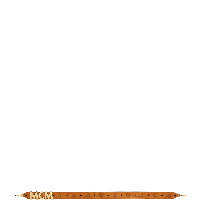 MCM 패트리샤 비세토스 레더 블록 어깨 스트랩 Cognac MYZ8APA96CO001 Alternate View 3