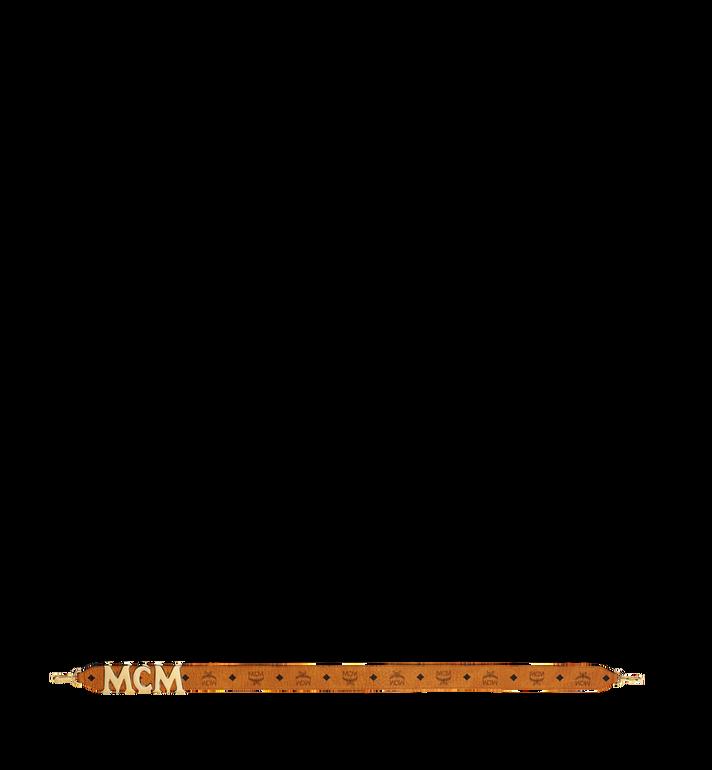 MCM MCM Letter Shoulder Strap in Visetos Alternate View 3